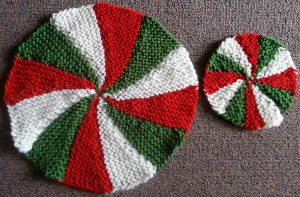 Coaster and Place Mat Christmas Theme