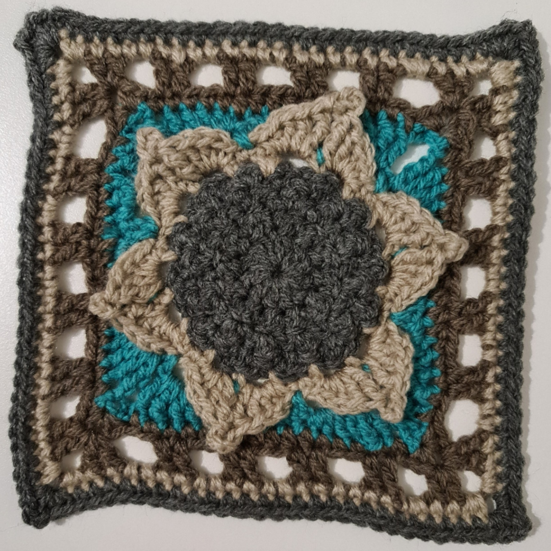 Granny Square - Sunflower
