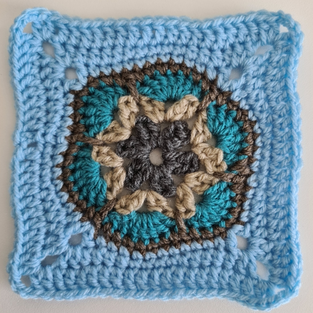 Granny Square - Paula's Pendant