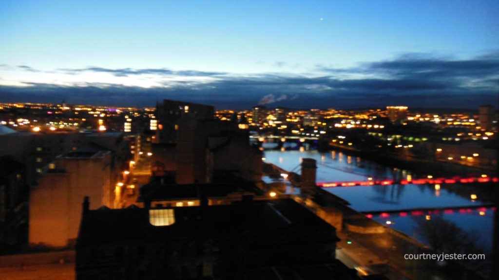 River Clyde by Night